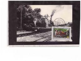 TEM14861  -  BUDAPEST   25.6.1974 /    4 CARDS   FDC    MICHEL NR.  2964/2967 - Trains