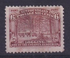 Newfoundland: 1897   400th Anniv Of Discovery Of Newfoundland   SG71   6c     Used - 1865-1902