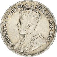 Monnaie, Chypre, 9 Piastres, 1921, TB+, Argent, KM:13 - Chipre