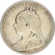 Monnaie, Chypre, 9 Piastres, 1901, TB, Argent, KM:6 - Chipre
