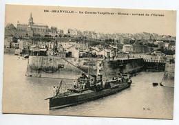 50 GRANVILLE Marine De Guerre Le Contre Torpilleur SIROCO Sortant Ecluse No 106 Edit N . G     D16  2019 - Granville