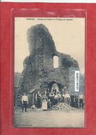 09 - 2021 - NORD - 59 -  COMINES - Ruines Du Château De Philippe De Comines - Belle Animation - Autres Communes