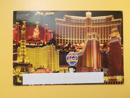CARTOLINA POSTCARD STATI UNITI UNITED STATES U.S.A. 2005 LAS VEGAS VEDUTE VIEW BOLLO FLOWERS OBLITERE - Las Vegas