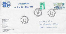 1979 Championnats D'Europe De Volley Ball Masculin Et Féminin: Villeurbanne - Pallavolo