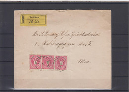 "Tschechoslovakei Michel Cat.No. Austrian Stamps Reco ""Teschen"" - ...-1918 Prefilatelia"