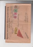 "Tschechoslovakei Michel Cat.No. Austrian Stamps Reco Reimboursemen ""Tetschen"" - ...-1918 Prefilatelia"