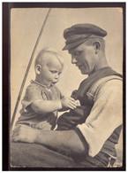 Dt- Reich (022213) AK Mann Mit Kind, Zentralverlag Der NSDAP, Neues Volk, 1940, Ungebraucht - Briefe U. Dokumente
