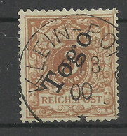 Deutsche Kolonien Togo 1 B Gest. Klein-Popo, Geprüft Bothe - Colony: Togo