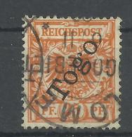 Deutsche Kolonien Togo 5 B Gest., Geprüft Jäschke-Lantelme - Colony: Togo