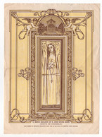 Portugal * Santa Maria Adelaide * Arcozelo * 19 X 14 Cm * Image Religieuse * Devotion Image - Devotion Images