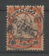 Deutsche Kolonien Togo 12 Gest. Lome - Colony: Togo