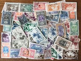 Océanie Lot Vrac 60 Timbres Oblitérés - (L021) - Used Stamps