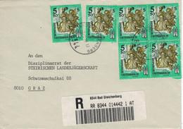 8344 Reko Bad Gleichenberg - Holzplastik Tod Stift Admont 1985 - Thermalisme