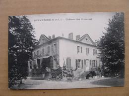 Cpa ROMANECHE Château Des Gimarest  Saône Et Loire 71 - Other Municipalities