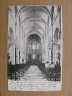 Cpa ROMANECHE THORINS Intérieur De L'église Saône Et Loire 71 - Other Municipalities