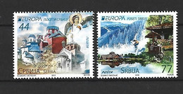 Timbre De Europa  Serbie Neuf ** 453/454 - 2012