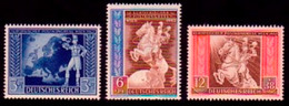 820-822 Europäischer Postkongreß 1942 In Wien - Satz Postfrisch ** - Ohne Zuordnung