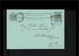1892 - Curacao Postal Stationary Geuzendam 8 (Z-3) [A105_40] - Curaçao, Nederlandse Antillen, Aruba