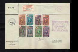1944 - Curaçao FDC VLP04_03M - Health & Medicine - Red Cross - Queen Juliana [A105_58] - Curaçao, Nederlandse Antillen, Aruba