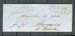 "Preussen / Briefhuelle R2 ""CLEMPENOW"" (4447) - Briefe U. Dokumente"
