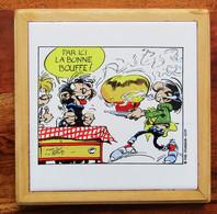Dessous De Plat Gaston Lagaffe Par Franquin 1986 - Non Classificati