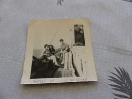 25-9 , 108, Photo Sur Le Bateau Menant à L'île Du Levant, Juillet 1949 - Barche