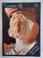 Corriere Unesco 10 1977 Acropoli Atena Sant'omobono Zeus Pericle Plutarco Aristotele Rocca Sacra Erettèo Cariatidi - Arte, Design, Decorazione
