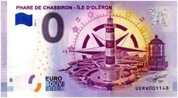 Billet Souvenir - 0 Euro - France - Ile D'Oléron - Phare De Chassiron (2020-2) - Autres