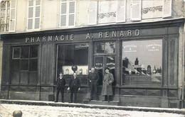 France - 58 - Clamecy - Carte Photo - Pharmacie A. Renard - Petit Défaut Au Verso - Clamecy
