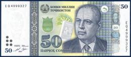 TAJIKISTAN TADJIKISTAN TADSCHIKISTAN 50 SOMONI P-NEW Bobojon Gafurov - Choikhanai Sibne Tea House 2021 UNC - Tajikistan