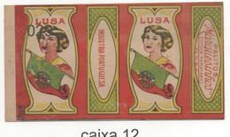 Caixa De Palitos Marquesinhos LUSA Industria Portuguesa - Non Classificati