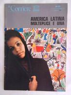 Corriere Unesco 8-9 1977 Olmechi Teotihuacàn Montezuma Paraguay Gesuiti Indiani Cordigliera Tonantzin Ocampo Tango - Arte, Design, Decorazione