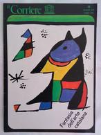 Corriere Unesco 3 1978 Arte Catalana Trittico Ribes Soriguerola Episcopale Vich Archivi Verne Diogene Pittura Miracoli - Arte, Design, Decorazione