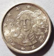 2019 - ITALIA  REPUBBLICA - MONETA IN EURO -  DEL VALORE DI  10  CENTESIMI -  USATA- - Italie