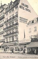 Heist - Heyst - Situation Centrale En Face Des Bains (animée Pâtisserie Grand Hôtel  1912) - Heist