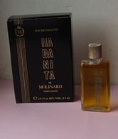 Miniature Parfum MOLINARD HABANITA  Edt 8.5 ML  Boite - Mignon Di Profumo Donna (con Box)