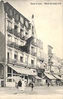 Heist - Heyst - Hôtel Du Lion D'Or (animation Edit Uitg. Weber 1912) - Heist