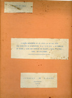 Jean Rapenne Gouverneur Du Niger.Journal De Marche Du 29 04 Au 16 05 1939.Niamey.Fada N'Gourma.Dori.Tillabery. - Altri
