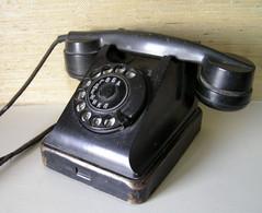 Vintage VEF BAGTA Telephone USSR Latvia 1950s - Telefonia