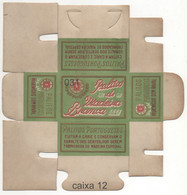 Caixa De Palitos Portugueses PALITOS DE MADEIRA BRANCA - Non Classificati