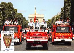 FRANCE.Carte Maximum.AM12012.16/09/2011.Cachet Paris.Sapeurs Pompiers De Paris - 2010-...