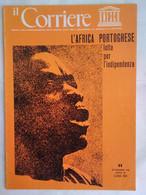 Corriere Unesco 11 1973 Makonde Scultori Africa Portoghese Civiltà Chimù Chanchan Guinea-bissau Ritmi Lignei Tanzania - Arte, Design, Decorazione