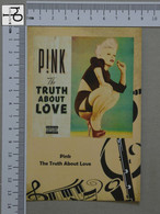 POSTCARD - PINK -  LP'S COLLETION -   2 SCANS  - (Nº45146) - Music And Musicians