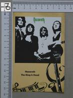 POSTCARD - NAZARETH -  LP'S COLLETION -   2 SCANS  - (Nº45147) - Music And Musicians