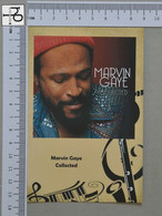 POSTCARD - MARVIN GAYE -  LP'S COLLETION -   2 SCANS  - (Nº45148) - Music And Musicians