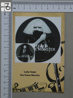 POSTCARD - LADY GAGA -  LP'S COLLETION -   2 SCANS  - (Nº45149) - Music And Musicians