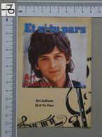 POSTCARD - ART SULLIVAN -  LP'S COLLETION -   2 SCANS  - (Nº45158) - Music And Musicians