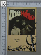 POSTCARD - THE WHO -  LP'S COLLETION -   2 SCANS  - (Nº45160) - Music And Musicians