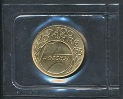 Goldmedaille Farbwerke Hoechst 1963 Im Original Blister Eingeschweißt    +++ Verkaufspreis Unter Aktuellem Goldwert +++ - Other
