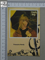 POSTCARD - FRANCOISE HARDY -  LP'S COLLETION -   2 SCANS  - (Nº45171) - Music And Musicians